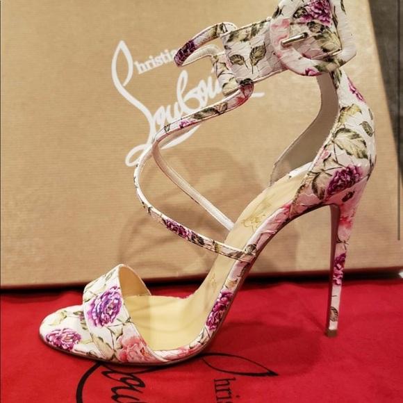 sports shoes 634d3 b16cc christian-louboutin choca 100 floral water snake
